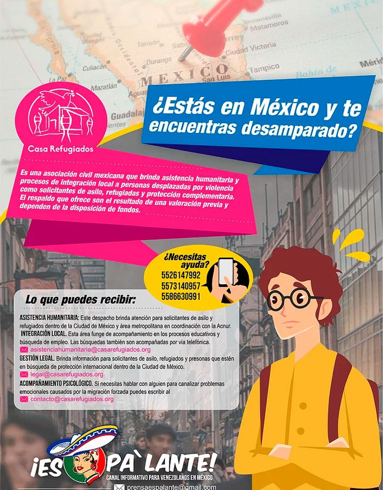 ¿Estás en México y te encuentras desamparado?