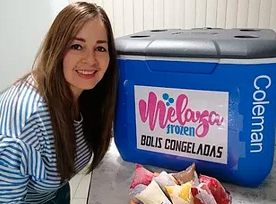 """""""La migración me abrió la posibilidad de reinventarme con la venta de helados"""""""