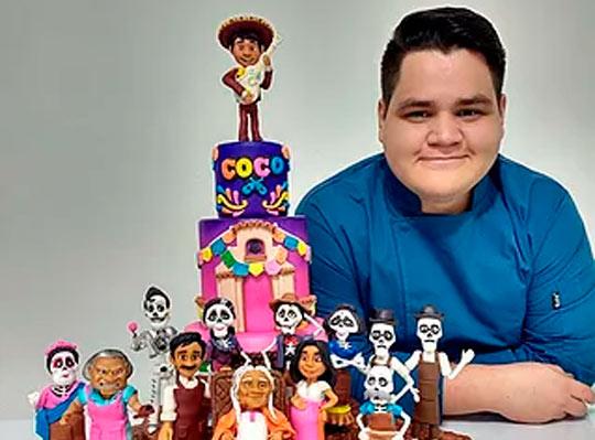 El joven que hace de la pastelería una obra de arte